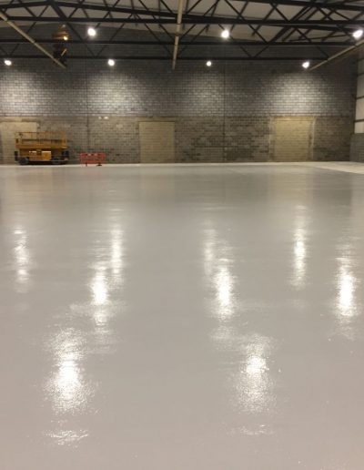 Warehouse commercial Flooring